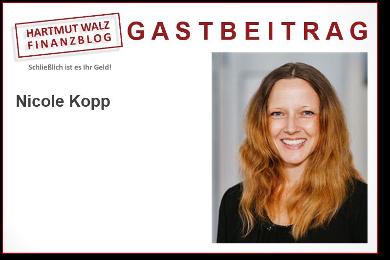 Nicole Kopp, Honoraranlageberaterin