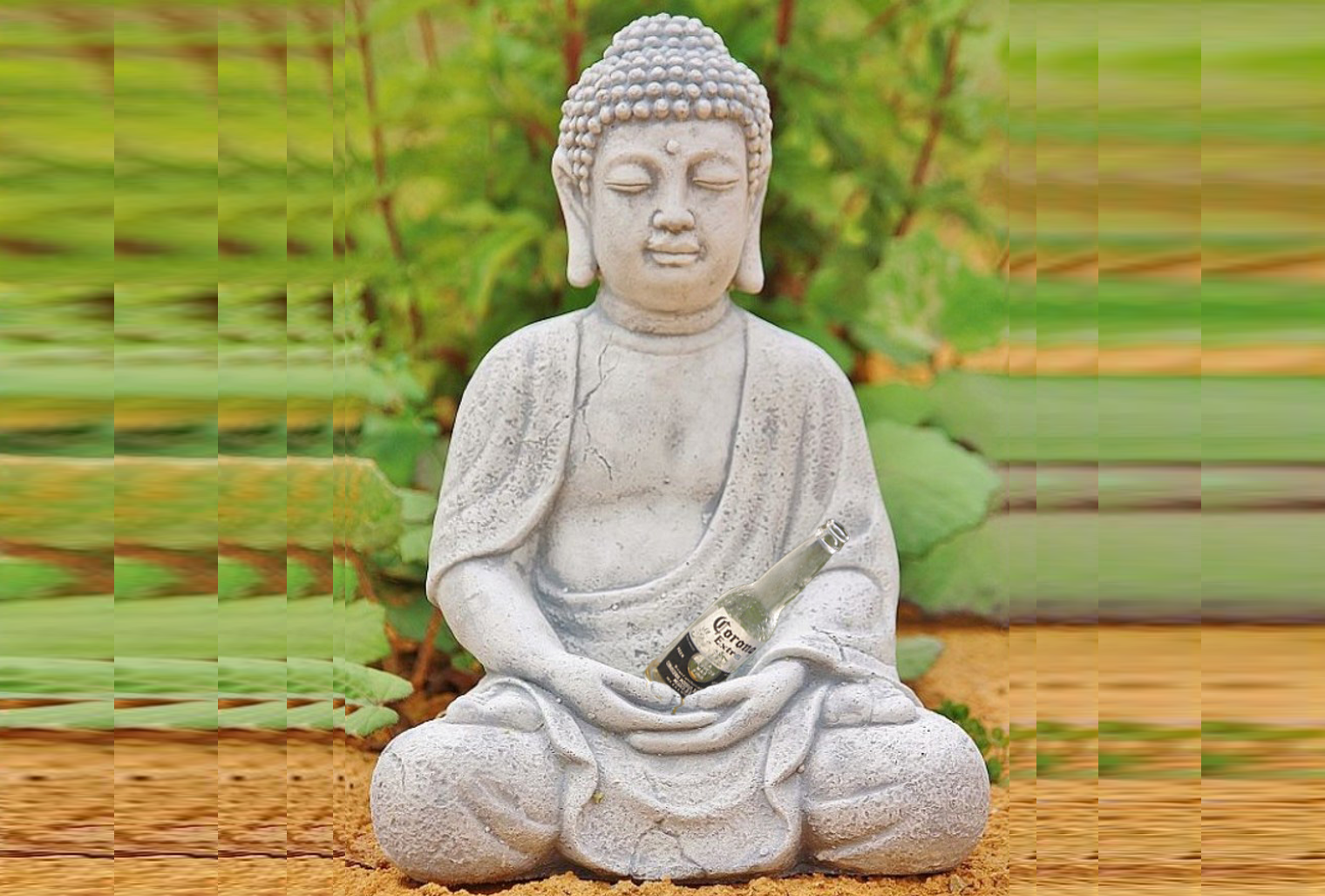 Corona-Buddha