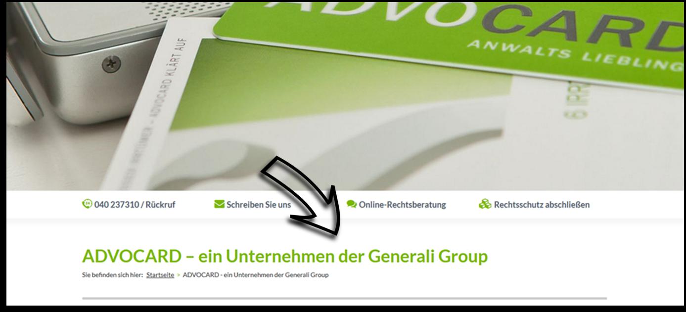 ADVOCARD – ein Unternehmen der Generali Group