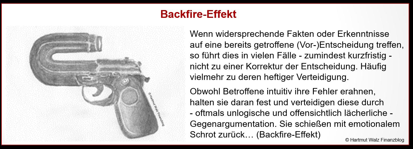 Backfire-Effekt