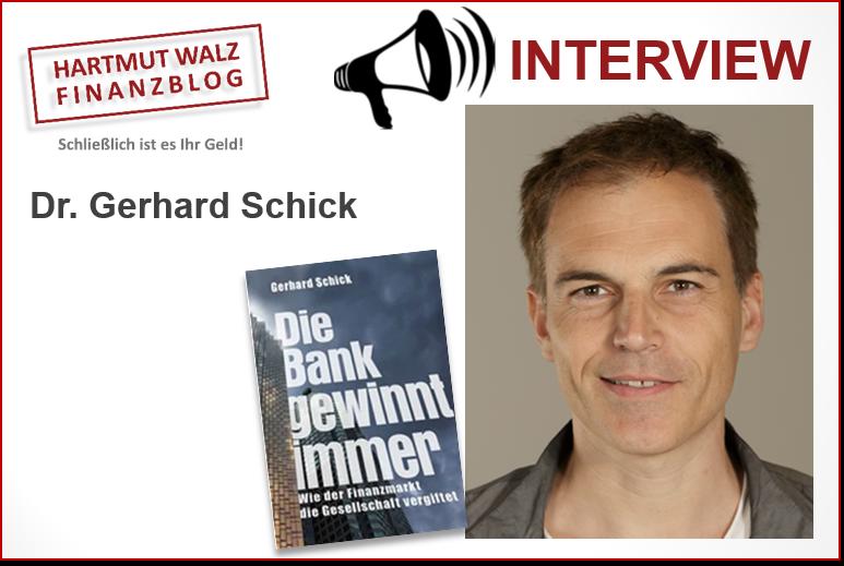 Dr. Gerhard Schick im Gespräch