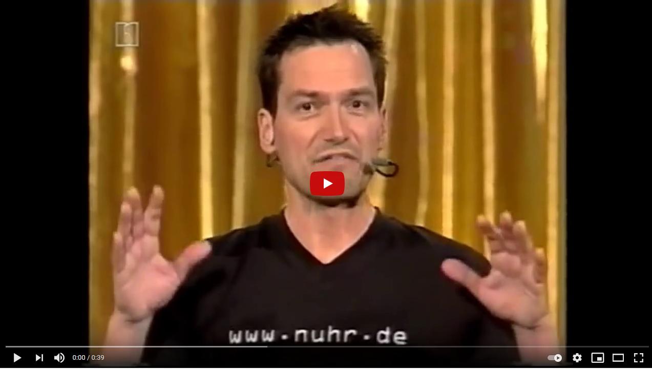 Dieter Nuhr - einfach mal Fresse halten