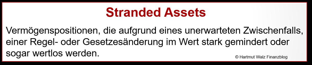 Definition Stranded Assets