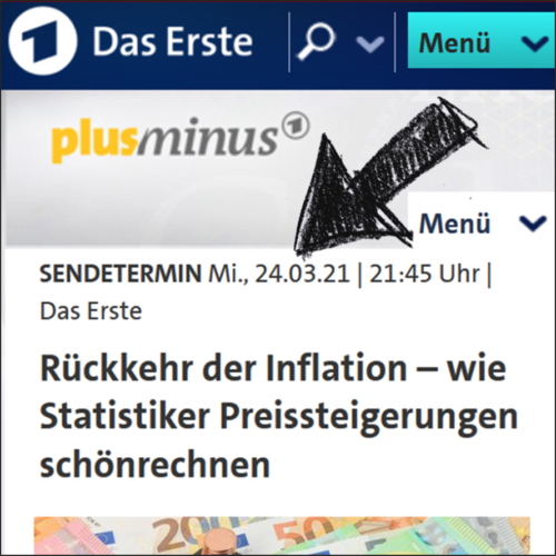Beitrag bei PlusMinus