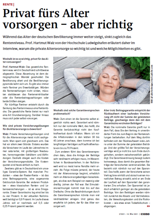 Econo Interview mit Stefan Burkhardt